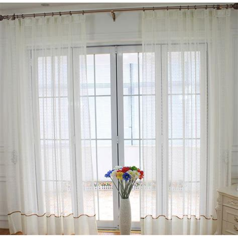 patio door sheer curtains white patterned custom patio door sheer curtains