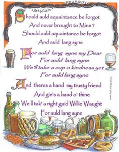 happy new year in scottish scotland on scotland scotland and