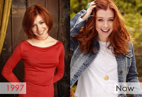 Now And Then Alyson Hannigan Goes by 90 S Actors Where Are They Today