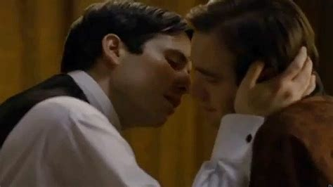 tom hughes fanfiction downton abbey gay kiss cut for greek broadcast upsetting