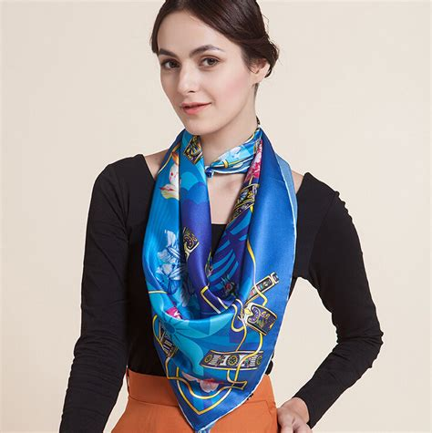 free shipping 2014 fashion brand designer silk scarf