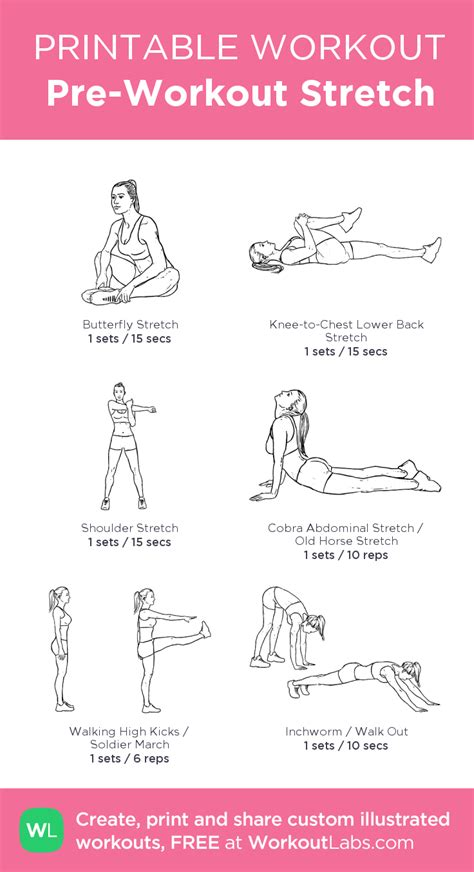 best 25 pre workout stretches ideas on