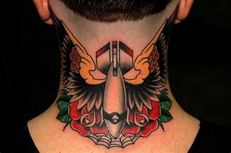 mind bomb tattoo 17 best images about neck tattoos on garden