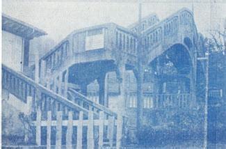 fotos antiguas ujo antigua pasarela ujo asturias