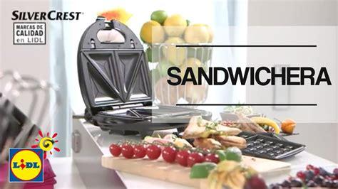 tostadora lidl sandwichera silvercrest lidl espa 241 a youtube