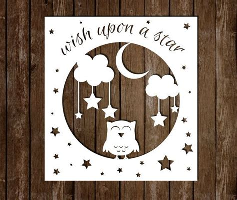 paper cutting templates personal use paper cutting template wish upon a
