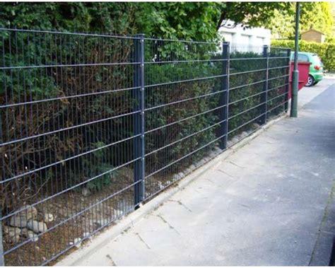 Terrasse 1 Meter Hoch by 60 Meter Zaun Komplett Anthrazit Mit Pfosten Typ A