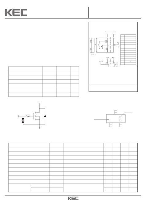 transistor fet pdf ktk5133s datasheet pdf pinout n channel mos field effect transistor