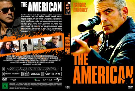 The American The American Dvd Cover 2010 German Custom