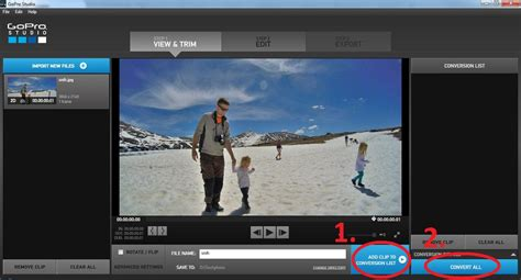 tutorial edit video gopro studio gopro studio tutorial add a photo to a video filming family