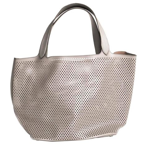 Tas Fashion Shoulder Bag 776 Light Grey ala 239 a grey large tote bag for sale at 1stdibs