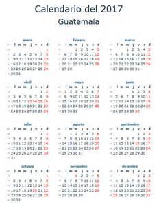 Guatemala Calendario 2018 Calendario Guatemala Calendario 2017