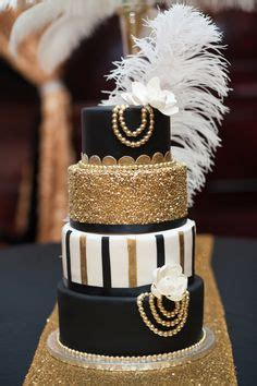 Hochzeitstorte 20er Jahre by Great Gatsby Wedding Cake So Cool Wedding
