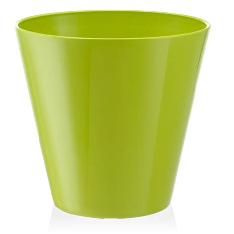 self water pot eden 20cm lime estoril self watering plastic pot