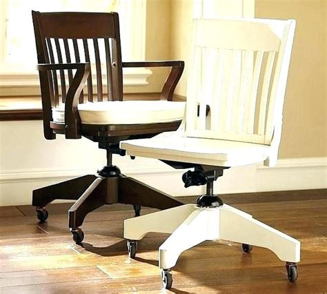 white wooden desk chair wood office chairs swivel