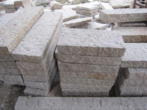 stein palisaden pflasterung stein bordstein palisaden g682 g682 palisaden