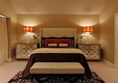 modern interior design color schemes beige  red colors