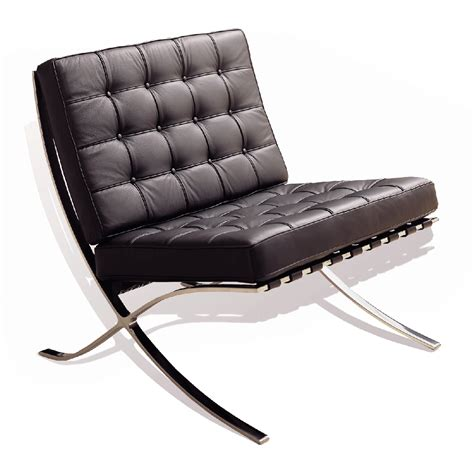 Barcelona Armchair by Barcelona Chair In Leatherette Lounge Chairs Lobby Furniture