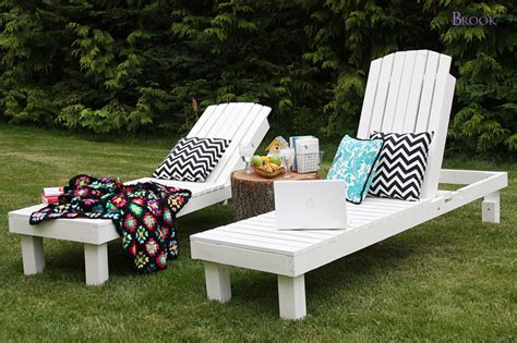 building a wooden lounge chair white 35 wood chaise lounges diy projects