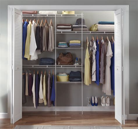 Closetmaid Wardrobe closetmaid wardrobe interior packages get organised with an organiser kit