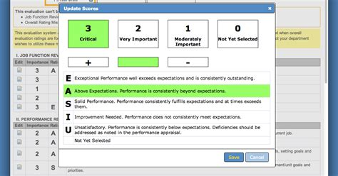 Or Ratings Performance Appraisal Performance Appraisal Ratings