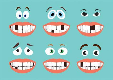 imagenes de negras sin dientes missing tooth series vector free download