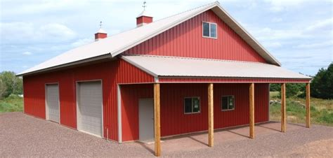 gable lean  james garagmahal   pole buildings agricultural buildings