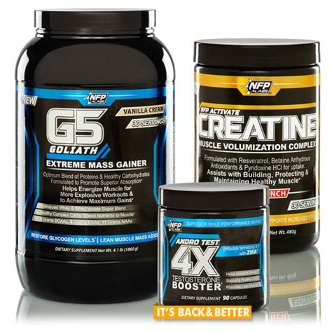 supplement stacks gainz supplement stack lean building and strength