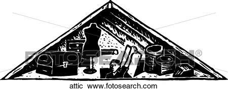 clipart  attic attic search clip art illustration murals drawings  vector eps graphics