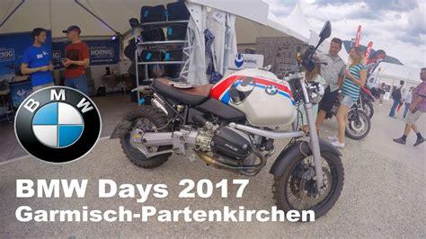 Bmw Motorrad Days Garmisch Partenkirchen by Bmw Motorrad Days 2017 In Garmisch Partenkirchen Youtube