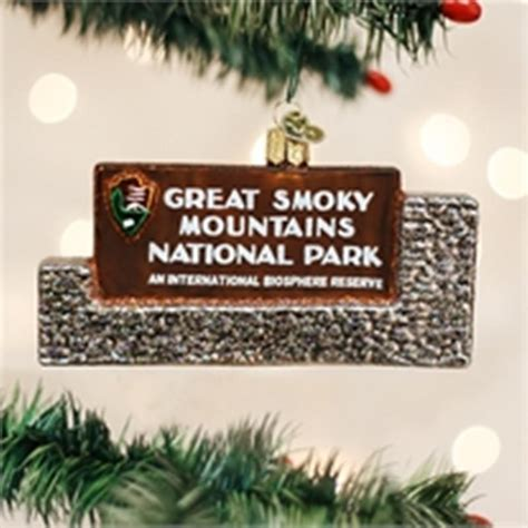 national park ornaments national park great smoky ornament