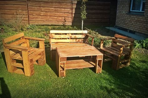 Pallet Outdoor Furniture Practical Yet Chic Ideas How To Make Pallet Patio Furniture