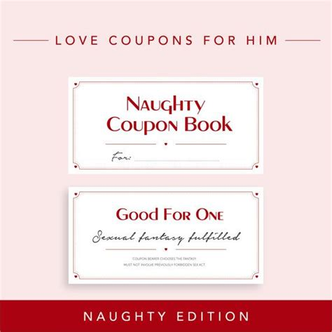 free printable coupons for him 25 best ideas about coupons for boyfriend on