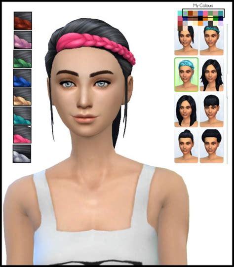 sims 4 girl hair braids sims 4 hairs simista braided ponytail edit simsticle