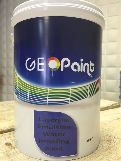 Waterproof Acrylic Emulsion laycrylic emulsion w p paint geo paint