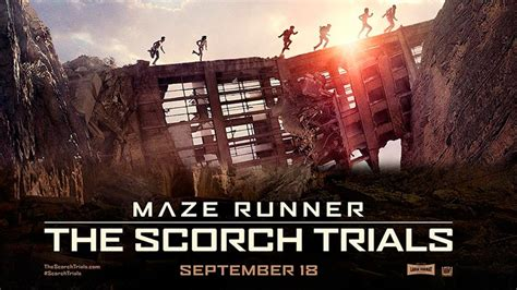 film maze runner 2 maze runner the scorch trials movie review
