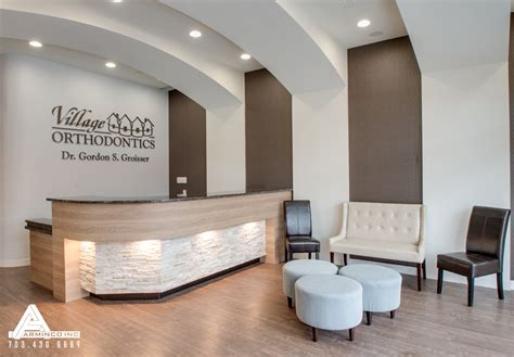 67 wall street front desk dental office design by arminco inc pinteres dental