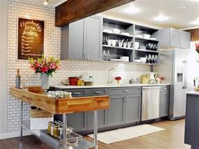 subway tile country kitchen with gray cabinets this beautiful layout ideas and options hgtv pictures amp tips