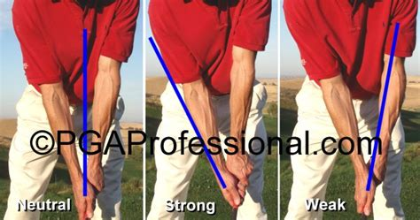 strong golf grip swing clarify neutral golf grip please instruction and playing