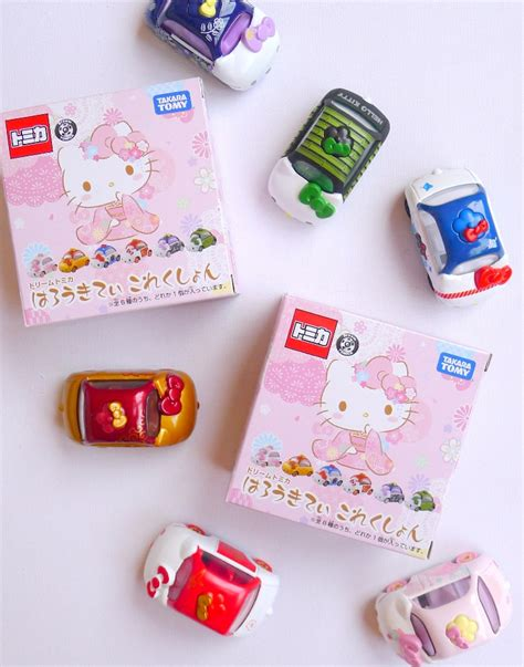 Tomica Set Hello tomica x hello set 2016