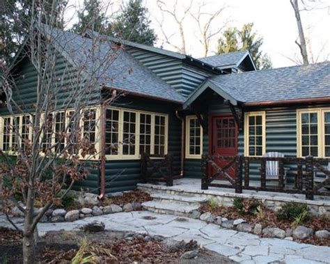Log Cabin Colors by Cabin Color Scheme Houzz