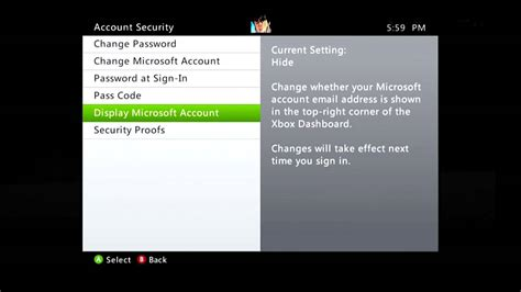 email xbox attention up your account security on xbox live hiding