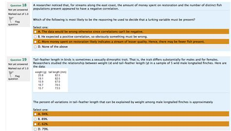 statistics section ii part a questions 1 5 answers statistics and probability question chegg com