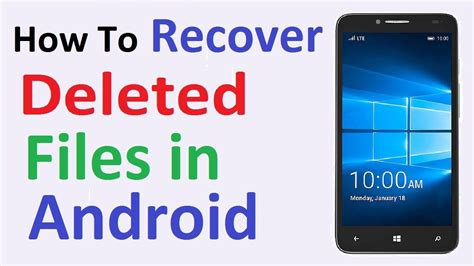 how to recover deleted files on android how to recover deleted files on android no root no computer required easy process