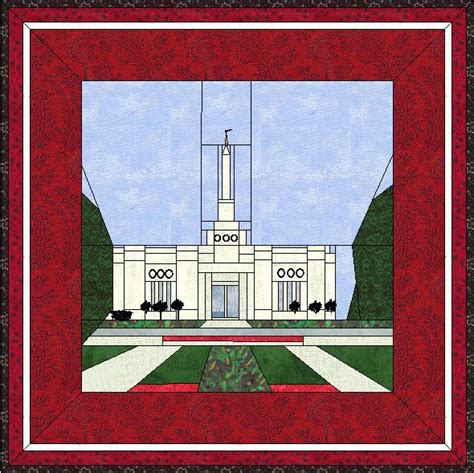 pattern paper montreal montreal quebec canada temple quilt a temple