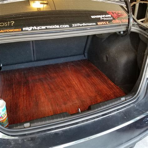 How To: Make A Custom Wood Floor for Your Trunk (With