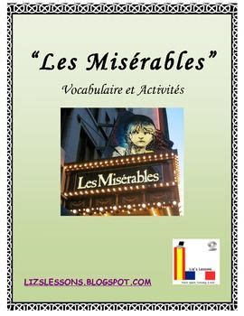 les miserables word cloud 160710816x quot les miserables quot french vocabulary activities and film critique word clouds the movie and