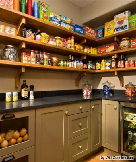 walk in pantry pantry with refrigerator home