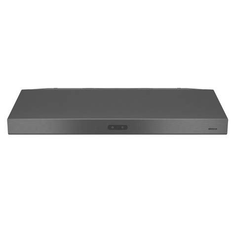 black stainless under cabinet range hood broan custom 28 875 in range hood insert kit 103023 the