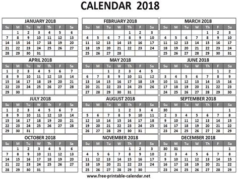 Pocket Calendar Template 2018 2018 Pocket Calendar Download Print Calendars From Free Printable Calendar Net